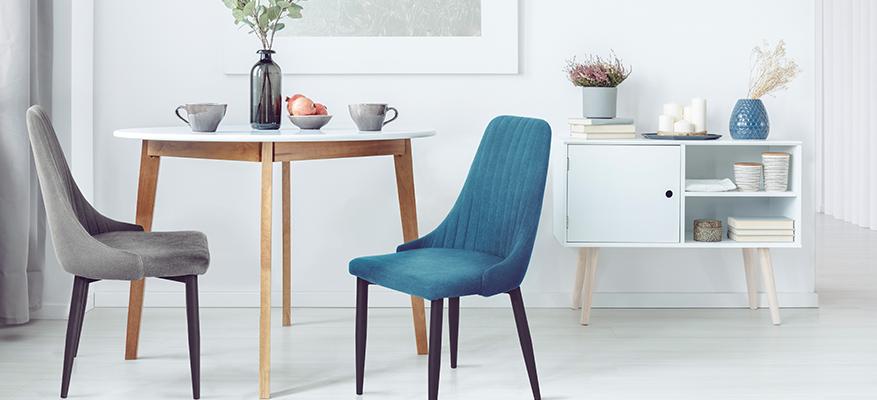 Krzesła w tkaninie