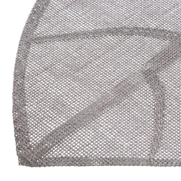 LEAF Podkładka w kształcie liścia szara 50x33 cm