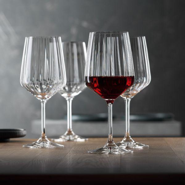 SPIEGELAU Zestaw 4 kieliszki do czerwonego wina LIFESTYLE 630 ml
