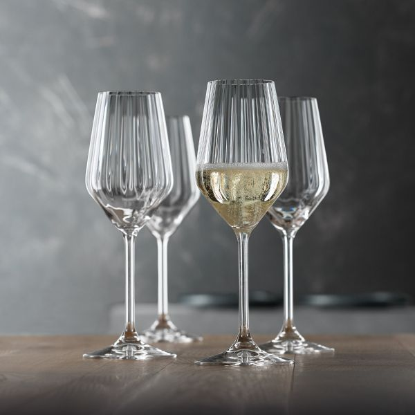 SPIEGELAU Zestaw 4 kieliszki do szampana LIFESTYLE 310 ml
