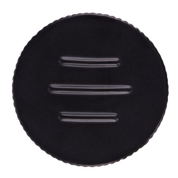 PILLAR Mydelniczka czarna 10x2,5cm