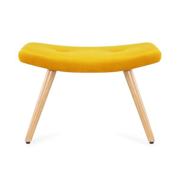 MOSS Podnóżek żółty 61x41x38 cm