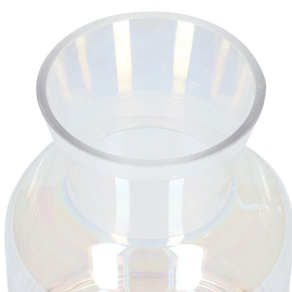 PEARL Wazon szklany 15x22 cm