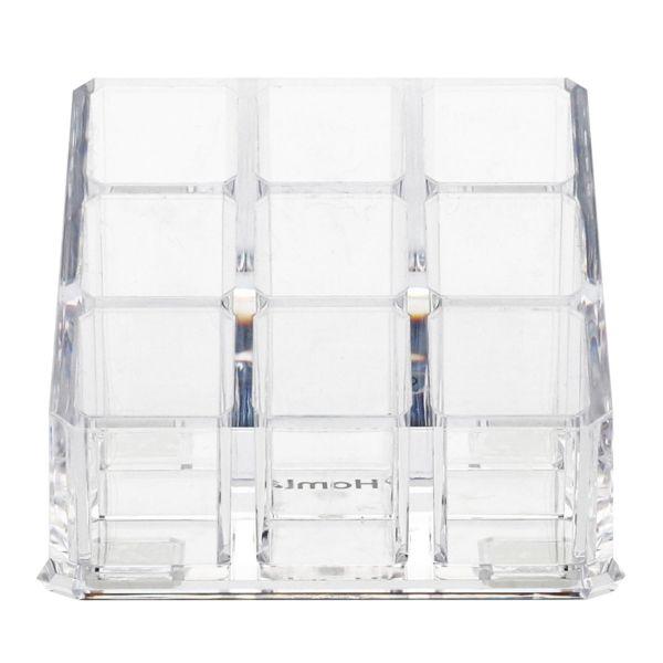 FALSA Organizer kosmetyczny transparentny 9x9x6,5 cm