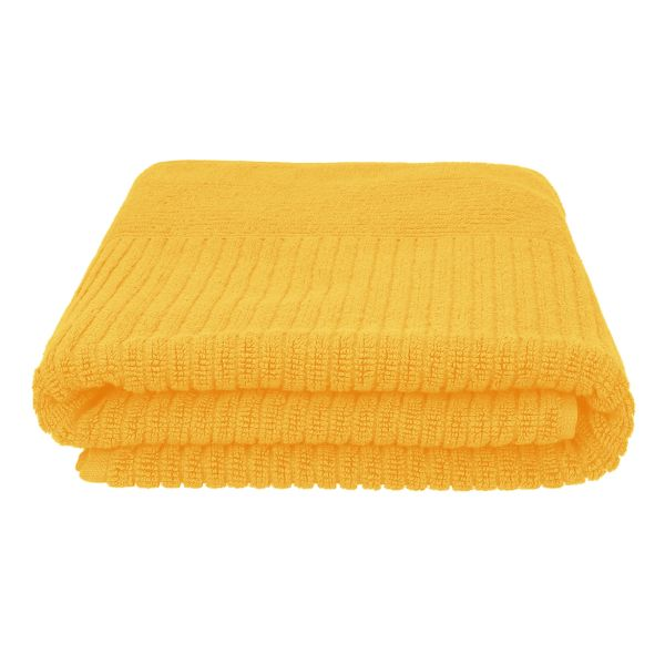 NALTIO Ręcznik musztardowy 70x130 cm
