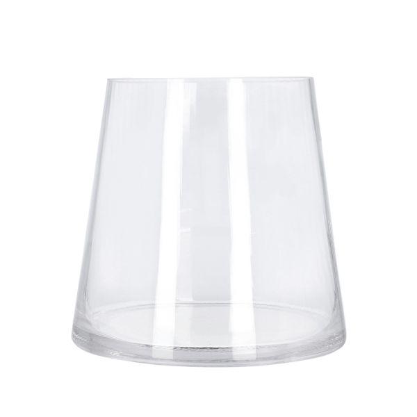 MEGALO Wazon transparentny 12x16x16 cm