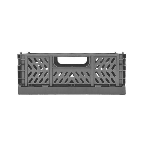 SAFI Skrzynka dekoracyjna szara 21x14x8 cm