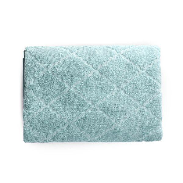 SAMINE Ręcznik z marokańską koniczyną miętowy 70x130 cm