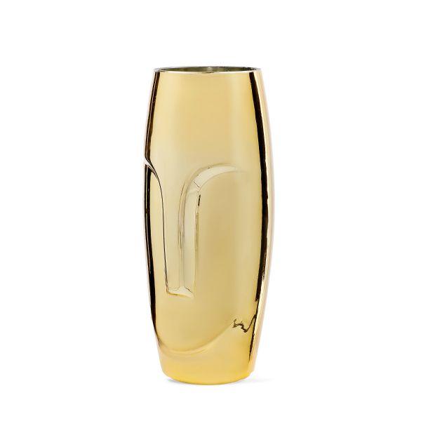 DORO Wazon złoty 10x10x25 cm
