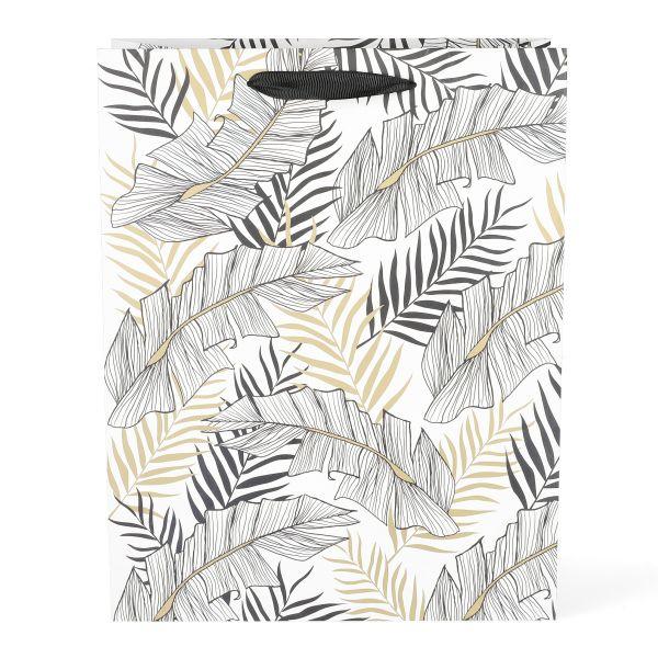 BAGS Torebka prezentowa Exotic Leaves 26x33x13 cm