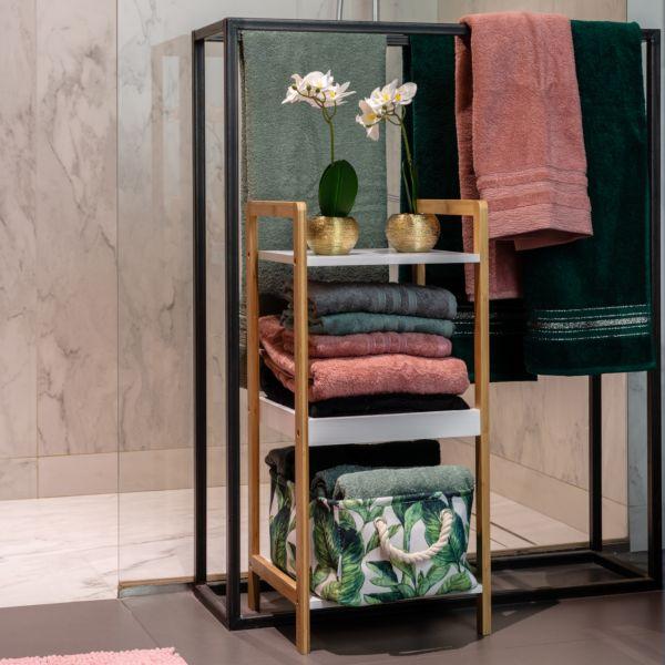 SARVA Ręcznik różowy 70x130 cm