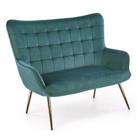 ELDAR Sofa zielona 129x99x100 cm