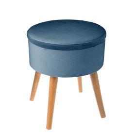 MEYS Stołek okrągły niebieski 37x43,5 cm