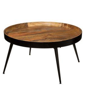 BASSE Stolik kawowy okrągły 70x36 cm