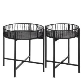 CIVA Zestaw stolików kawowych 2szt. 44x56,5 cm + 54x56,5 cm
