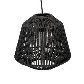 JILY Lampa sufitowa czarna 29x26 cm