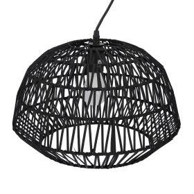 ELBA Lampa sufitowa czarna 38x32 cm