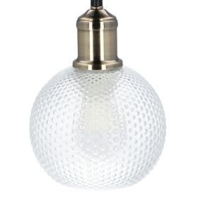 GINA Lampa sufitowa z szklaną kulą 19 cm