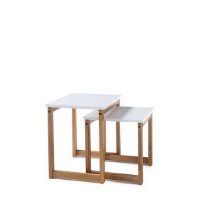 RIVERSIDE Zestaw stolików 50x40x50 cm