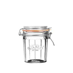 KILNER Słoik Facetted Clip Top Jar 0,45l