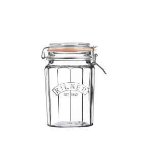 KILNER Słoik Facetted Clip Top Jar 0,95l