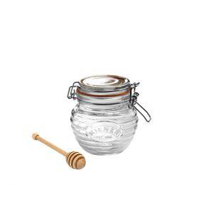 KILNER Słoik na miód z czerpakiem w opakowaniu prezentowym 0,4l