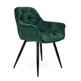 CHERRY Krzesło zielone 45x44x83 cm