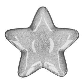 BLITS Talerz gwiazda srebrny S 30 cm