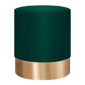 FICA Puf zielono-złoty 35x42 cm
