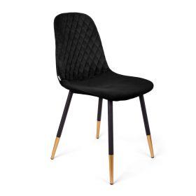 NOIR Krzesło czarne 44x52x85cm