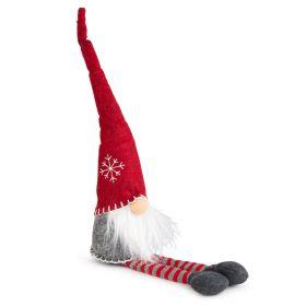 NICK Mikołaj siedzący szary 58 cm