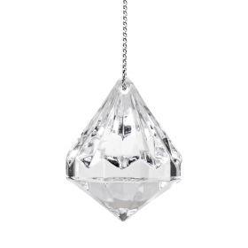 BIJOU Zawieszka transparentna diament 24 szt.