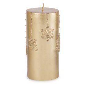 FROSTED Świeca złota 15 cm