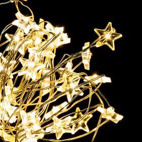 LUMERE Łańcuch świetlny z gwiazdkami 40 LED