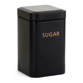 KINE Pojemnik na cukier czarny 9x15 cm
