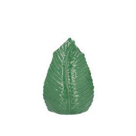 MELISSA Wazon z motywem liścia 22 cm