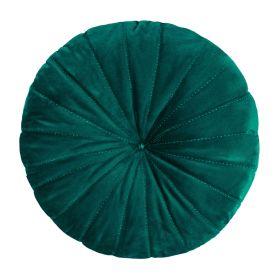 OLLIE Poduszka okrągła zielona 40 cm