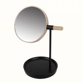 VAKR Lusterko stojące czarne 28 cm