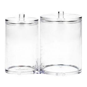 FALSA Organizer łazienkowy podwójny transparentny 15x12 cm
