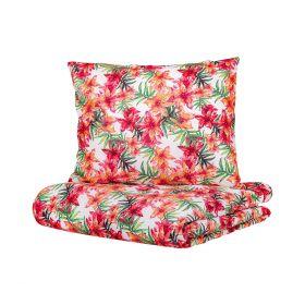 CLEVE Komplet pościeli bawełnianej w kwiaty 200x220 cm