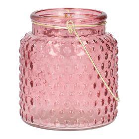 FIG Lampion różowy 10x11 cm