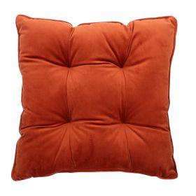 PIA Poduszka na krzesło pikowana ruda 40x40 cm