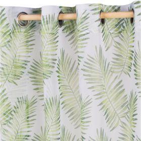 PELEN Firanka z motywem liści 140x250 cm