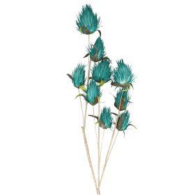 ECHMEA Kwiat sztuczny turkusowy 116cm