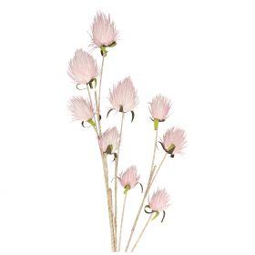 ECHMEA Kwiat sztuczny różowy 116 cm