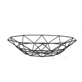 SLING Koszyk metalowy czarny 31x31x7 cm