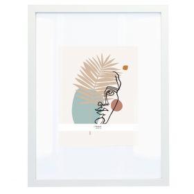 JO Ramka na zdjęcie biała 35x45 cm