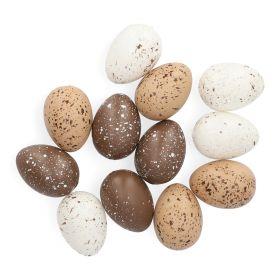 LECCY Ozdoby jajka naturalne 12 szt.