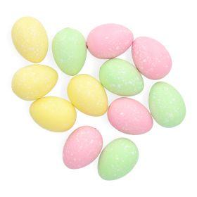 NOME Ozdoby jajka wielokolorowe 12 szt.