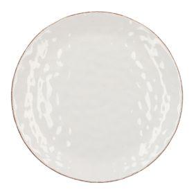 NOEMI Talerz obiadowy biały 27 cm